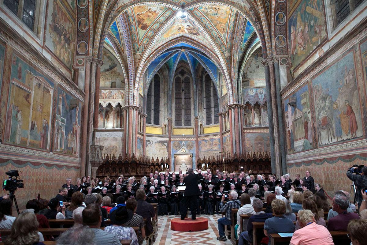 Inizia Assisi Pax Mundi