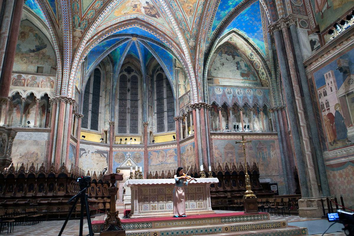 Quaresima in musica ad Assisi